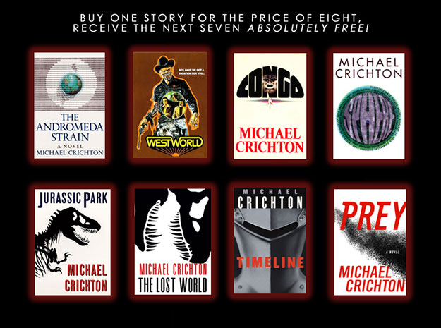 Buy One Story For The Price Of Eight, Receive The Next Seven Absolutely Free!