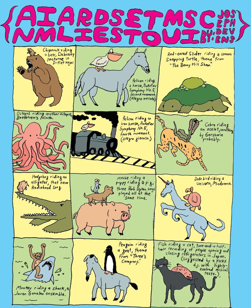 Animal Rides Set To Music