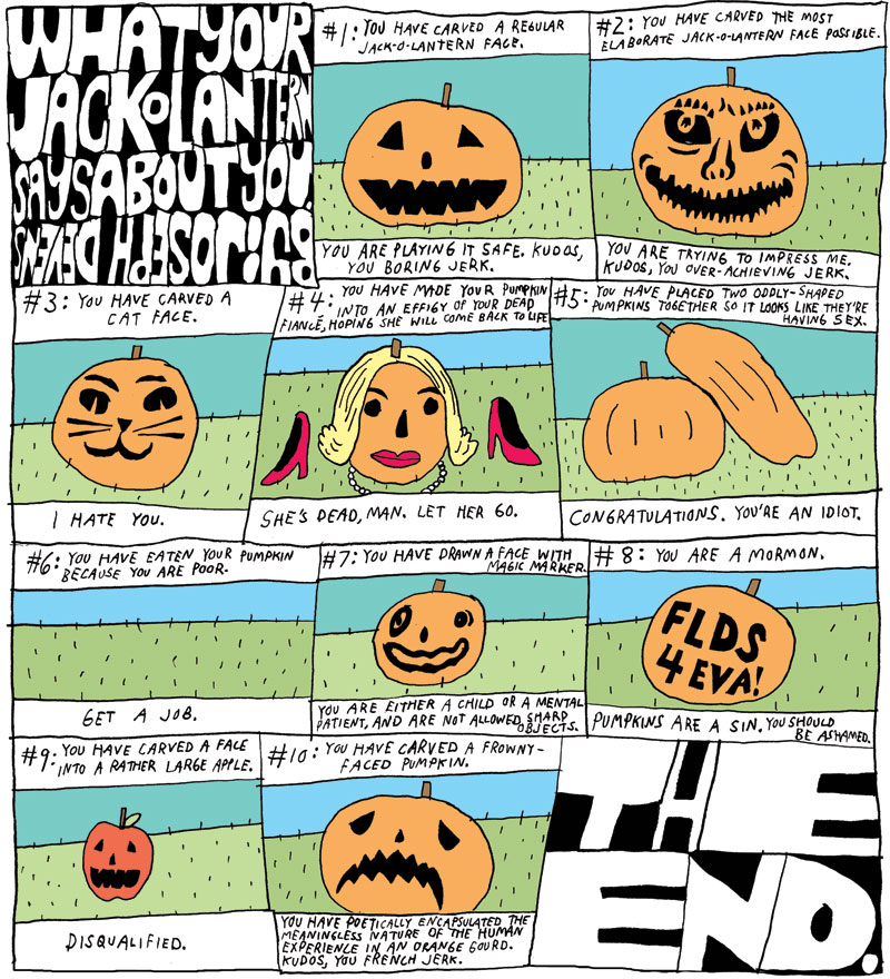 What Your Jack O' Lantern Says About You
