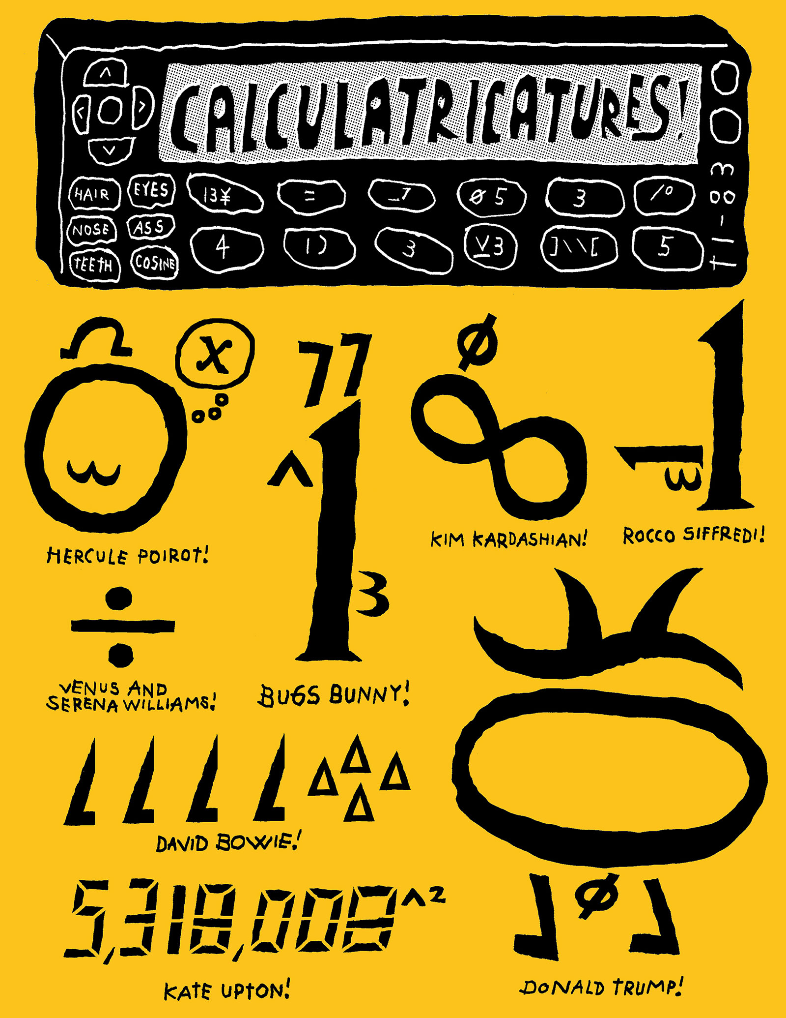 Calculatricatures!